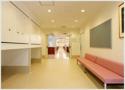 廊下・休憩スペース